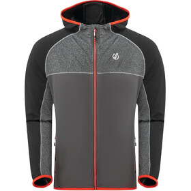Dare 2b Ratified II Core Stretch Chaqueta Hombre, black/ebony grey/aluminium grey